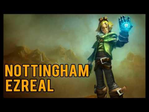 League of Legends - Nottingham Ezreal Skin