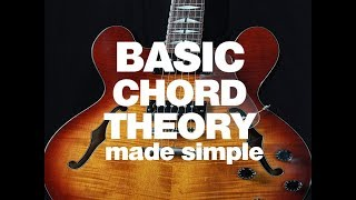 BASIC CHORD THEORY made simple