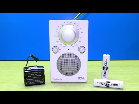 Tivoli Audio IPal How To Open / Repair / Battery Change / NI-MH To Lithium Ion