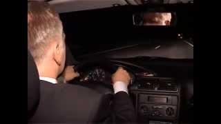 Уроки экстремального вождения. Управление автомобилем в ночное время.