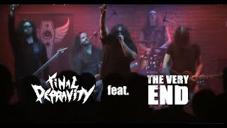 The Very End feat. Final Depravity | Letters to the living | Live at Dresden