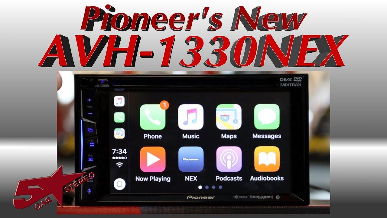 Diagram Pioneers New Avh 1330nex 6 2 U0026quot Carplay Radio Unboxing And