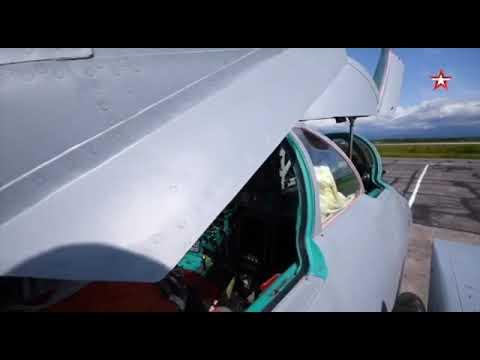 Учебный полет в стратосфере истребителей-перехватчиков МиГ-31БМ