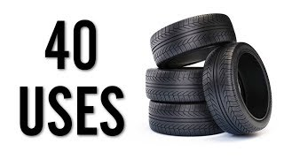 40 Amazing Uses for Old Tires