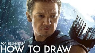 So you want to draw - Hawkeye (Avengers: Infinity War)