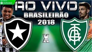 Botafogo 1x0 América-MG   Brasileirão 2018   Parciais Cartola FC   25ª Rodada   16/09/2018