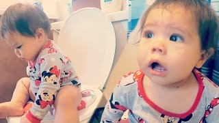 12 MONTH OLD POTTY TRAINING (11.18.16)