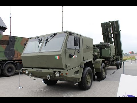MEADS Lockheed Martin Medium Extended Air Defense System  missile MSPO 2014 Poland Kielce exhibition