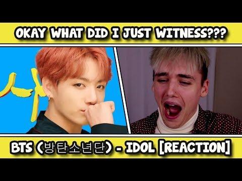 BTS (방탄소년단) 'IDOL' Official MV REACTION [I'M SO DONE]