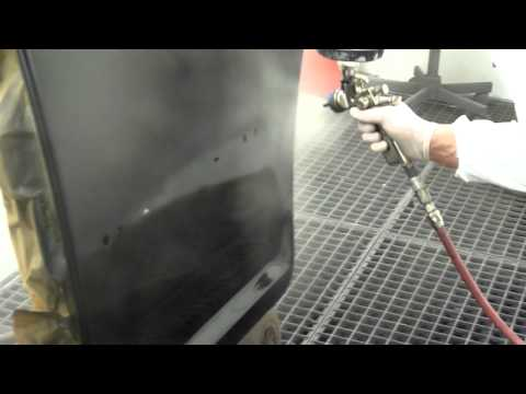 Paint spraying at Autoprep