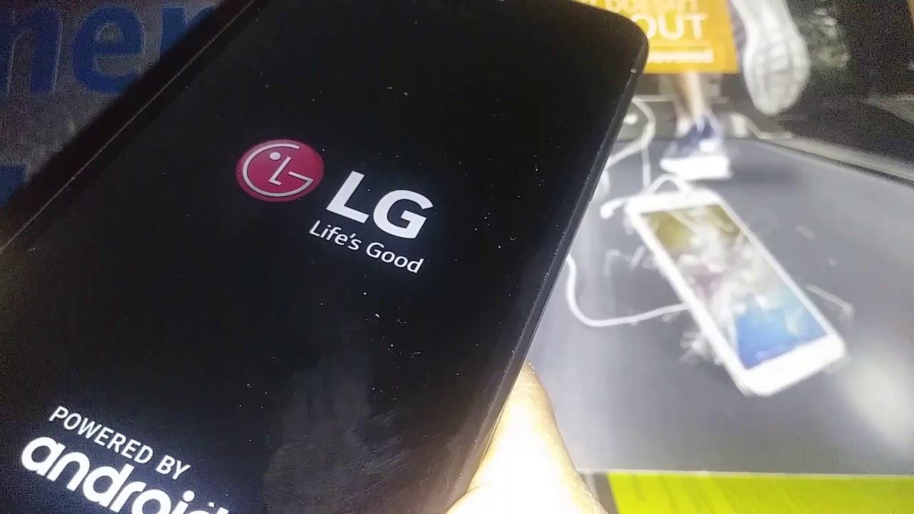 Hard Reset LG K30 Boost Mobile - Factory reset with external keys
