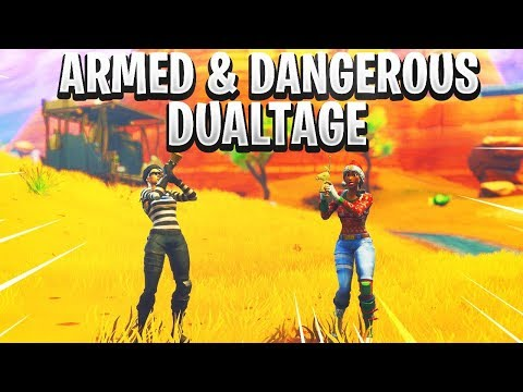 Juice WRLD: Armed and Dangerous - A Fortnite Dualtage