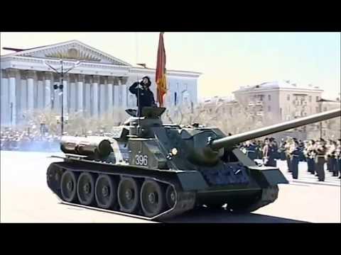 Chita, Eastern Siberia, Russia Victory Parade 2017