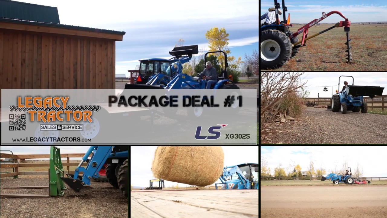 LS Tractor Package Deal #1