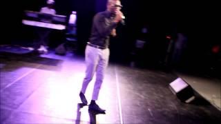 Afrodreamfest Houston 2014 Adeoniye performing Bang Bang