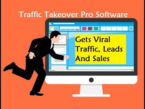 Traffic Takeover Pro Software - Gets Viral Traffic, Leads And Sales. http://bit.ly/2ZklY8B