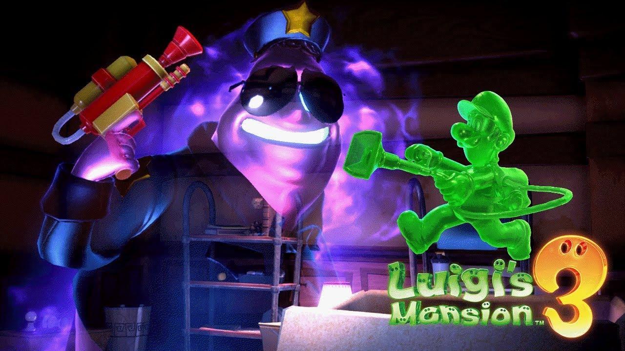 Luigi S Mansion 3 Walkthrough Gameplay Part 4 Ghost Security Guard Boss Battle