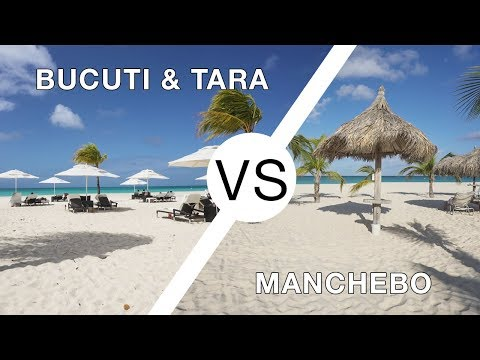 Manchebo Beach Resort Vs Bucuti Tara