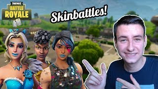 SKINBATTLES WITH VIEWERS!! -Fortnite Battle Royale #288 (English live)