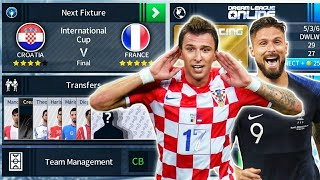 France 🇫🇷 Vs 🇭🇷 Croatia World Cup Final 🏆 Dream League Soccer 2018