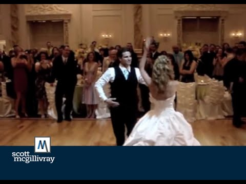 Scott McGillivray Wife Wedding Dance! We Want Scott McGillivray on Dancing with the Stars!