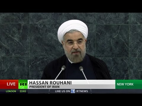 'Iran's threat propaganda dangerous for world security' - Rouhani to UN Assembly 2013 (FULL SPEECH)