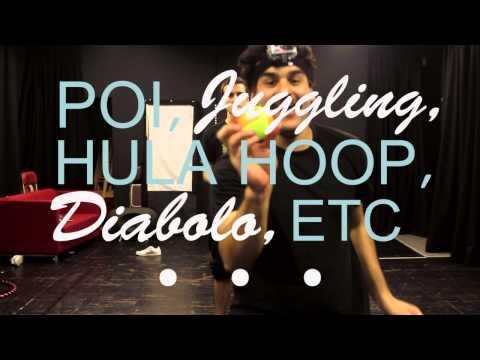 Edge Hill Circus Skills Society Promo