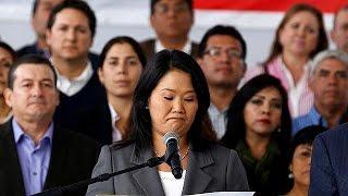 Кейко Фухимори признала своё поражение на президентских выборах в Перу