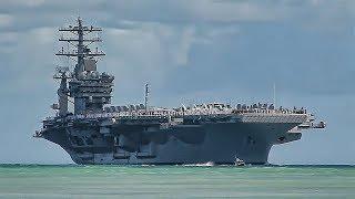 USS Nimitz Aircraft Carrier Tour