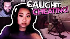 "Moe Watches ""Girl Cheating on Stream Getting Caught"" CLARA?"