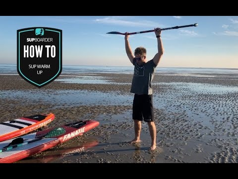 SUP warm up with Phil McCoy / How to video
