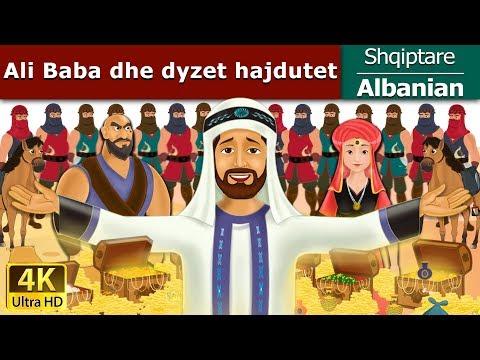 Ali Baba dhe dyzet hajdutet | Perralla per femije | Kukulla per femije shqip | Perralla Shqip