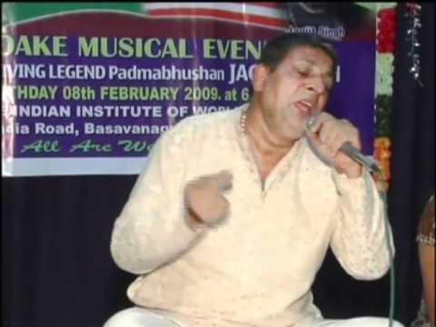 Ramu Remembers Jagjit Singh - Meri Tanhaiyon