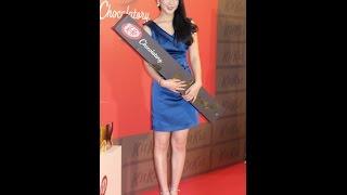 元KARAで女優の知英(ジヨン、21)が13日、東京・新宿高島屋で...