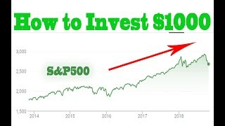 How to Start Investing $1000
