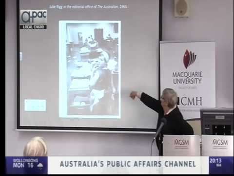 Panel, 'Social Movements', at symposium marking 50 years of the The Australian, 8 July 2014, PART 1