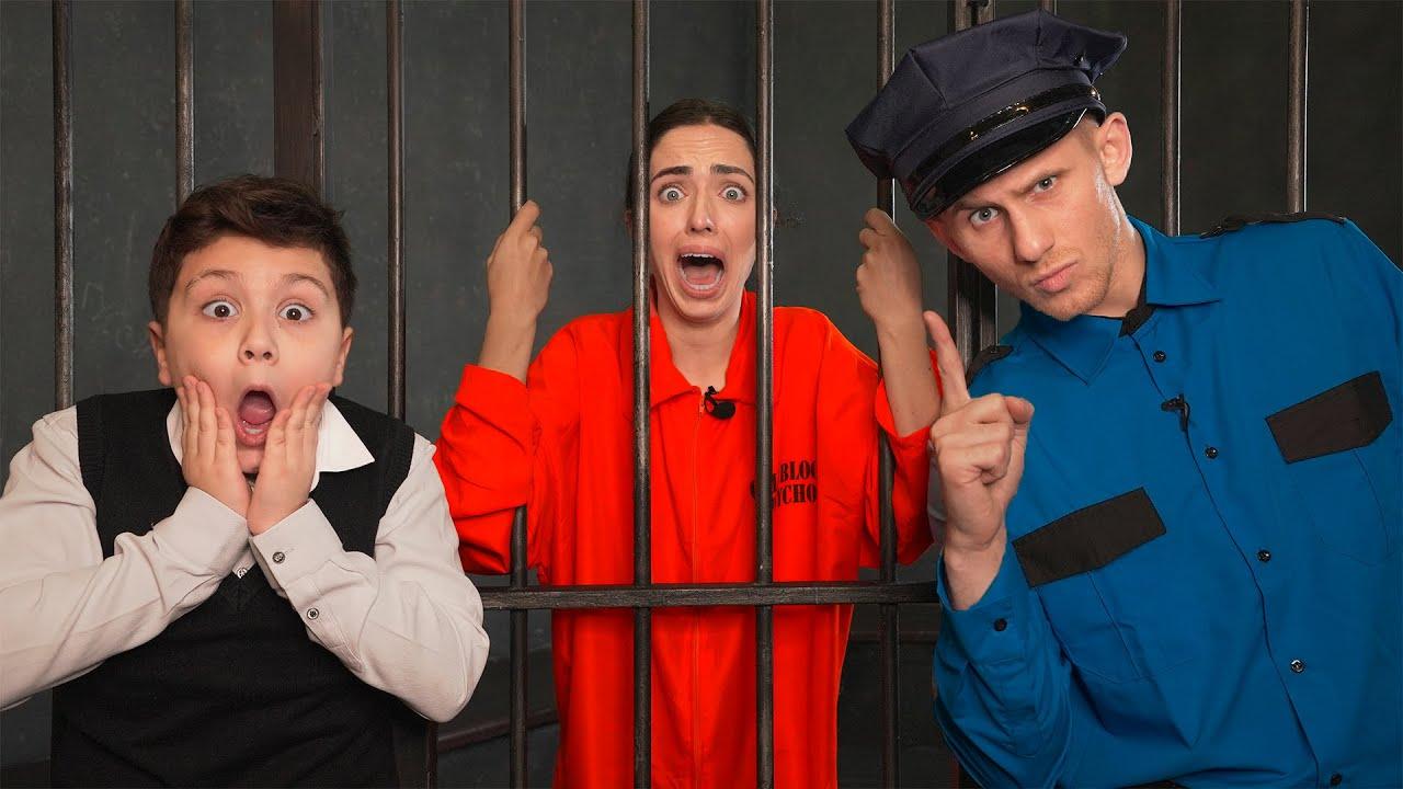 Побег Из Тюрьмы... УЧИЛКУ ПОСАДИЛИ! Лайфхак как сбежать из Тюрьмы