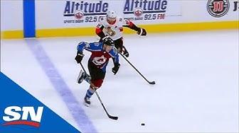 Mikko Rantanen Spins Around Senators Defenceman Before Scoring On Breakaway