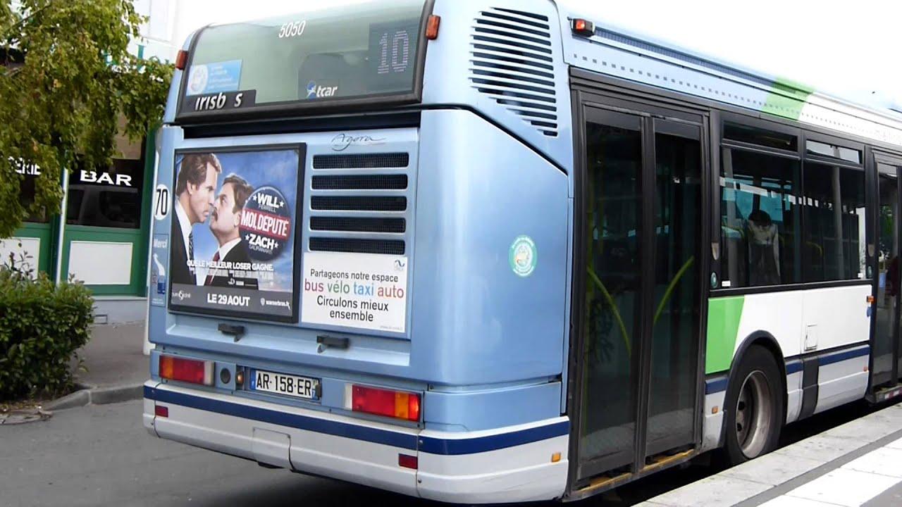 attente et d part du mercedes citaro tae irisbus agora s