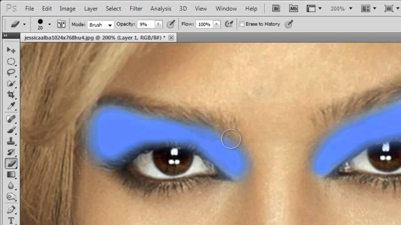 Photoshop cs5 digital make up tutorial youtube.