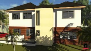 Caribbean House Plans | Plan 01 | Virtual Tour
