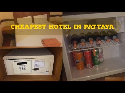 Best and  cheapest hotel in Pattaya Walking street || Thailand tour