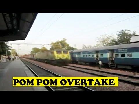 WAP7 Mumbai Rajdhani 120 Rips Janta Bharatpur