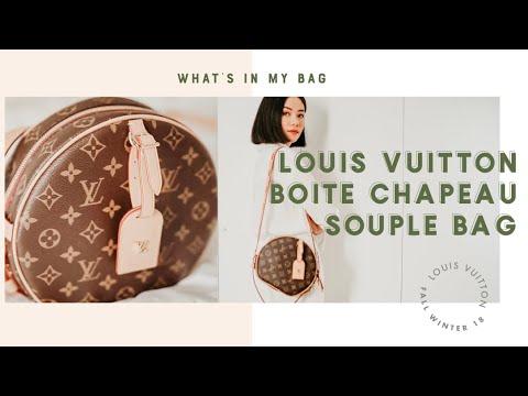 55d7fa32e770 WHAT S IN MY LOUIS VUITTON BOITE CHAPEAU SOUPLE BAG  - YouTube