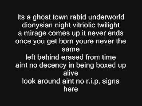 The Distillers - City Of Angels Lyrics