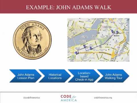 Code for America 2011 Projects Overview Webinar