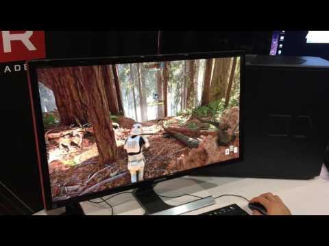 Project Scorpio замечен на стенде с демонстрацией новейших процессоров RYZEN и Vega от AMD