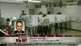 Ralph Nader on GOP's 2014 Wins