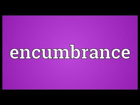 Header of encumbrance