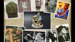 статуэтка дрессировщик Гладильщиков Н.П. с медведями
